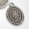 *BOGOF* Oval Patterned Frame Charm