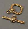 Sunflower Toggle Clasps (BB)
