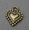 Vintage Mini Heart Charms