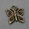 Vintage Small Butterfly Charms