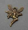 Vintage Large Fairy Pendant