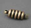 Magnetic Clasp - Ribbed Antique