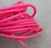 2mm PVC Hot Pink Rubber Tubing