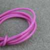 2mm PVC Lilac Rubber Tubing