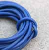 2mm PVC Navy Rubber Tubing