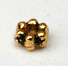 3mm Daisy Spacer - Gold