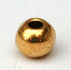 Simple Round Beads - Gold