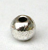 Simple Round Beads - Silver