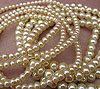 Glass Pearls - 6mm Cream