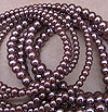 Glass Pearls - 6mm Mocha