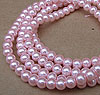 Glass Pearls - 6mm Pale Pink