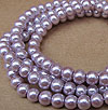 Glass Pearls - 6mm Soft Lilac