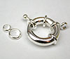 Chunky Bolt Ring Clasps - Small