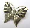 BIG Butterfly Pendant - Bronze