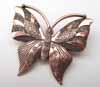 BIG Butterfly Pendant - Copper