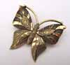 BIG Butterfly Pendant - Gold
