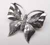 BIG Butterfly Pendant - Silver