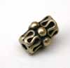 Vintage Doodle Tube Beads