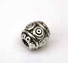 Evil Eye Barrel Beads