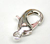 Medium Lobster Clasp - silver
