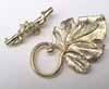 Large Vine Toggle Clasp - Gold