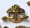 Rose Toggles Gold