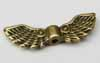 Angel Wing Beads - Bronze