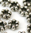3mm Daisy Spacer - Silver