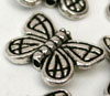 Large Butterfly Beads - Pointy wing