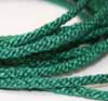 Braided Cord - 4.5mm Forrest Green