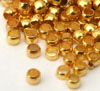 Crimp Beads 2mm Gold