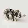 Elephant Beads - Silver