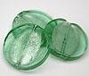 Glass Disc Bead - Mint