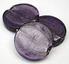Glass Disc Bead - Purple