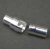 Magnetic Twist Clasp - Silver