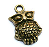 Owl Charms - Bronze