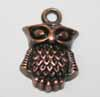 Owl Charms - Copper