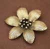 BIG Flower Pendant - Bronze