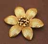 BIG Flower Pendant - Gold