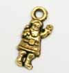Dinky Santa Charms - Gold
