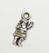 Dinky Santa Charms - Silver