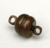 Magnetic Clasp-Drum - Antique Copper