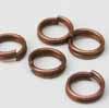 Split Rings - 6mm Copper