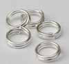 Split Rings - 6mm Silver