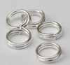 Split Rings - 6mm Silver
