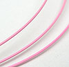 1mm Tigertail Cable- Baby Pink