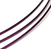 1mm Tigertail Cable - Dark Purple